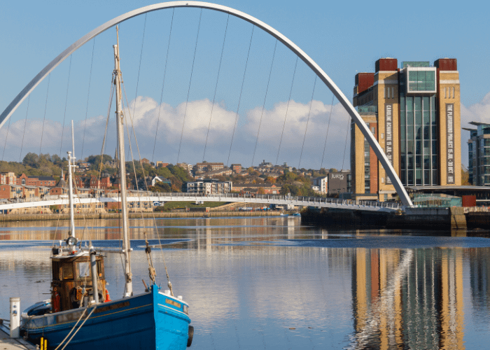 North East England: NewcastleGateshead